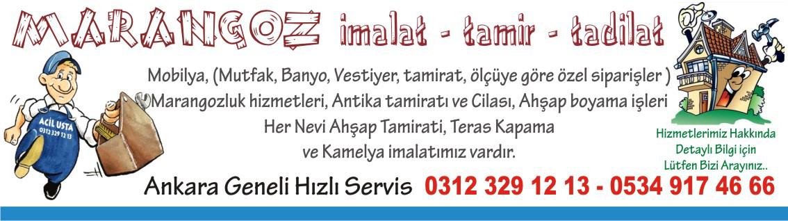 Ankara marangoz işleri fiyatları